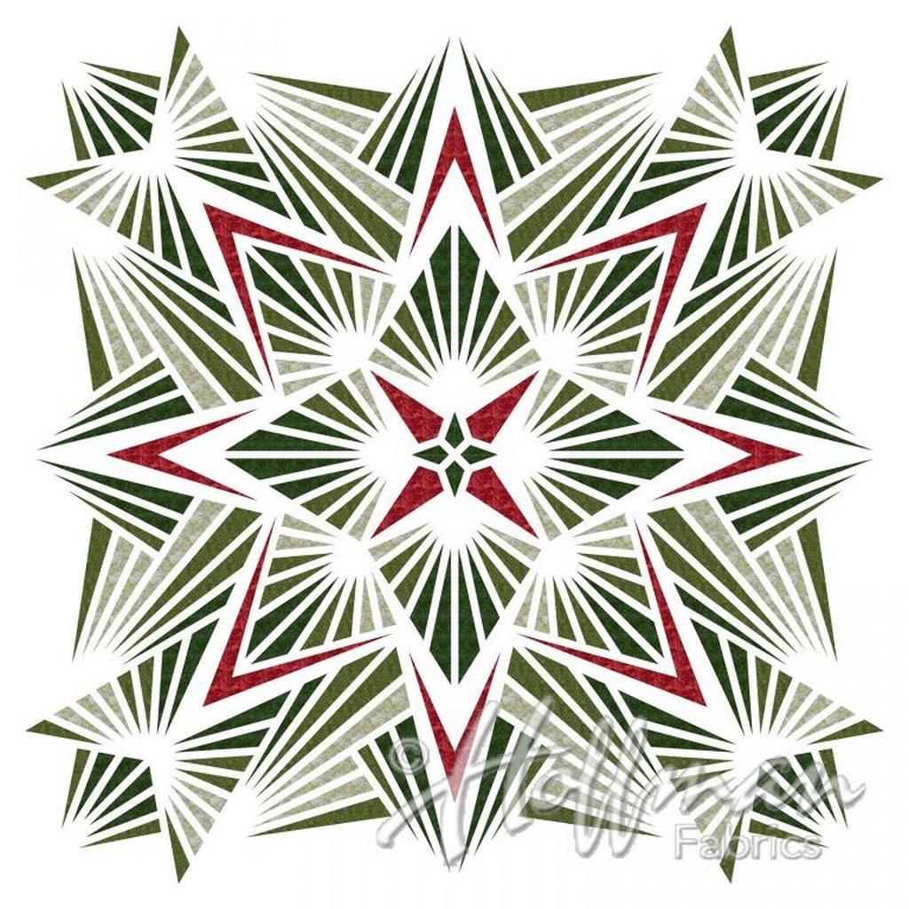 Crystal Digital Print - P4346-60 - Hunter (42x 42)