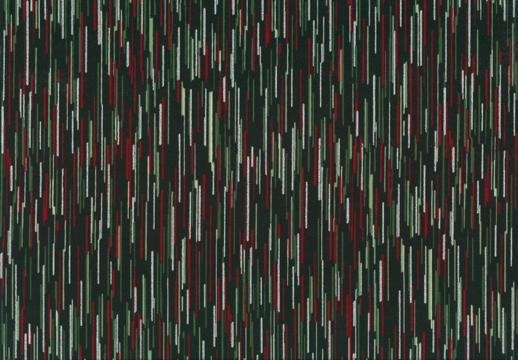 Cardinal Carols - Stripes - Onyx/Silver