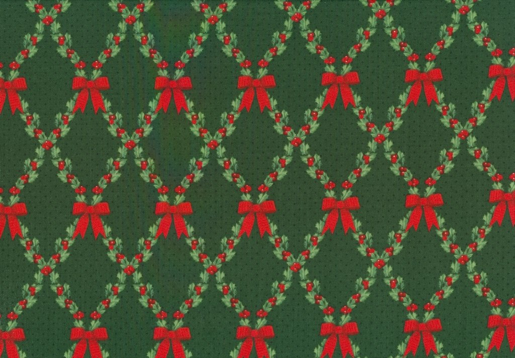 Let It Sparkle - Bows & Holly - Radiant Pine
