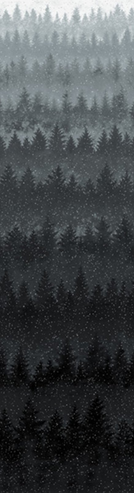 Can't Stop Falling - Trees -  Black/Silver