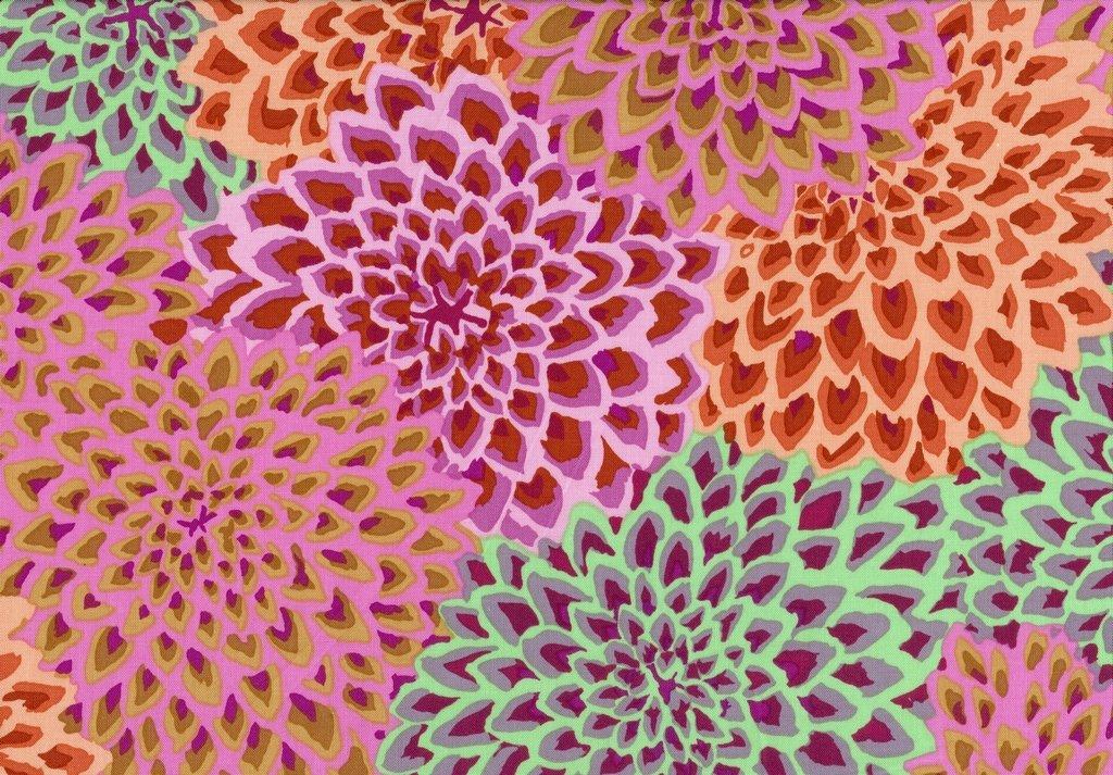 Dahlia Blooms - Autumn