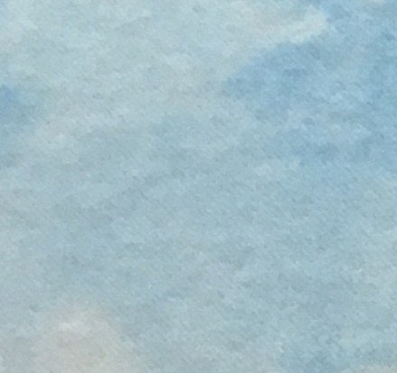 WoolyLady - 100% Wool Fat Eighth - Coastal Blue