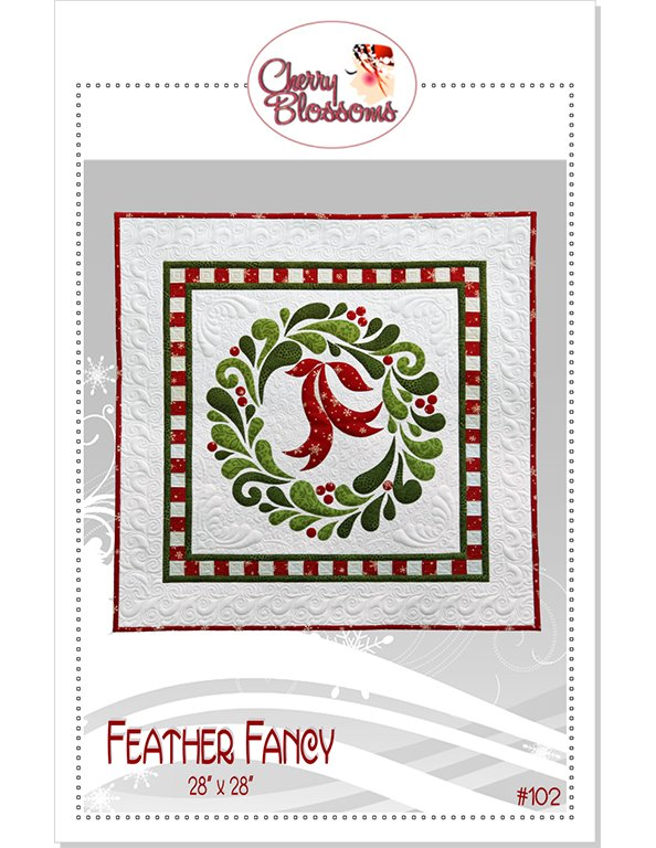 Feather Fancy 28 Square Wallhanging