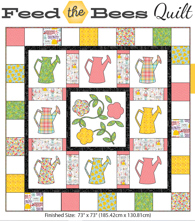 Feed the Bees Quilt Kit