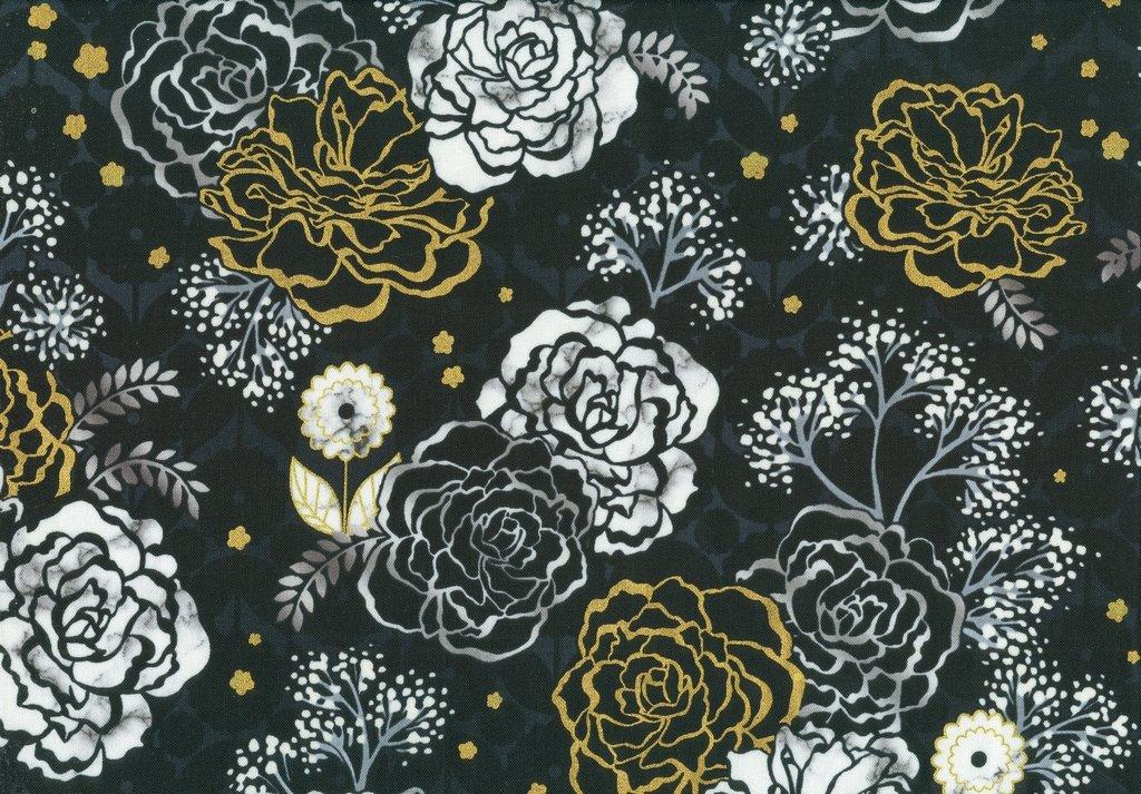 Silverstone - Floral - Onyx