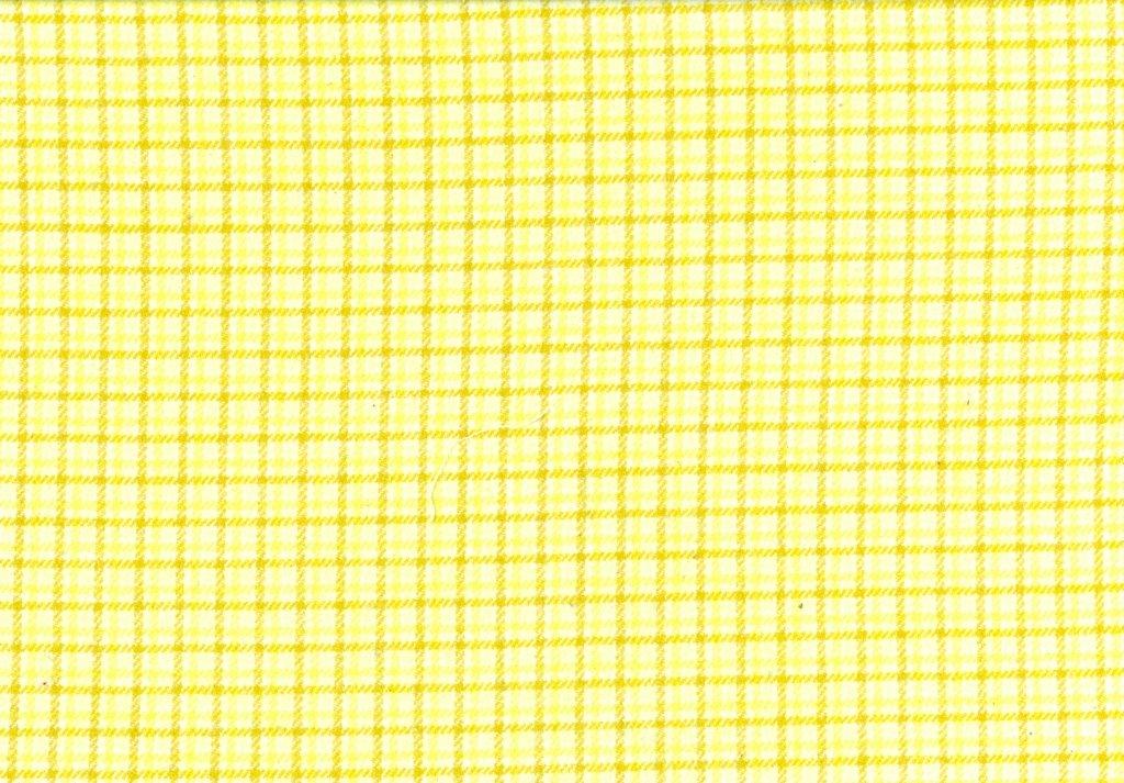 Sew Sweet - Primo Plaid Flannel - Plaid - Yellow