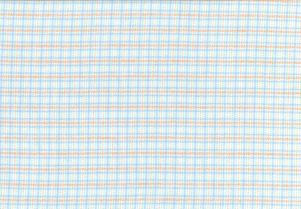 Sew Sweet - Primo Plaid Flannel - Dotted Plaid - Blue, Gold