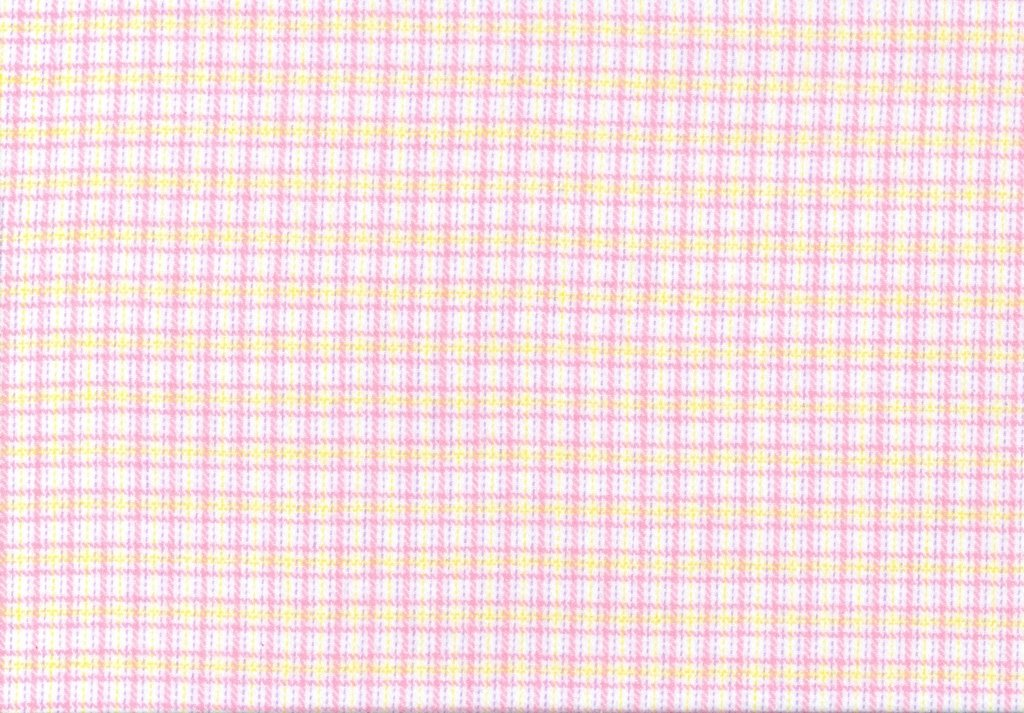Sew Sweet - Primo Plaid Flannel - Dotted Plaid - Purple, Yellow