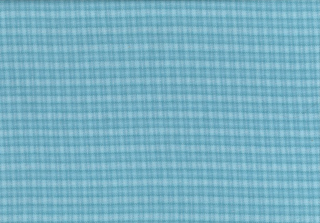 Sew Sweet - Primo Plaid Flannel - Dotted Plaid - Teal
