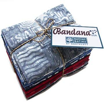 Bandana - Fat Quarter Bundle (16 pieces) - Multi