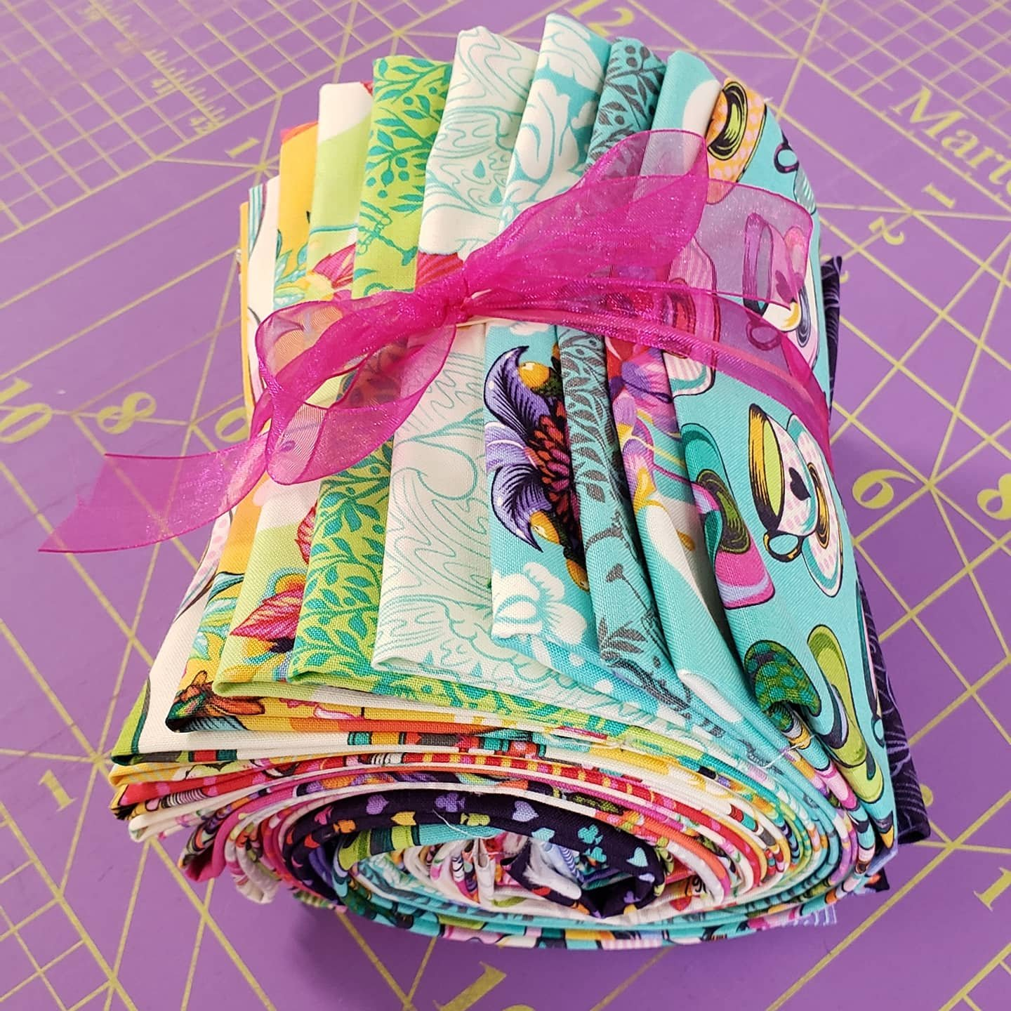 Curiouser & Curiouser - Full Collection Fat Quarter Pack - 25 Pieces