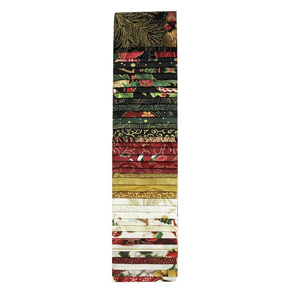 Jingle Pops -  40  Holiday 2 1/2 Strips - Gold