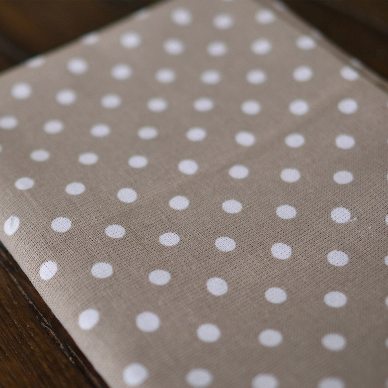 Kimberbell Polka Dot Tea Towel - Grey