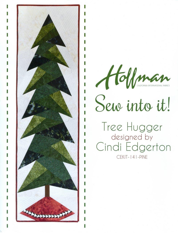 Hoffman - Tree Hugger Quilt Kit - Pine