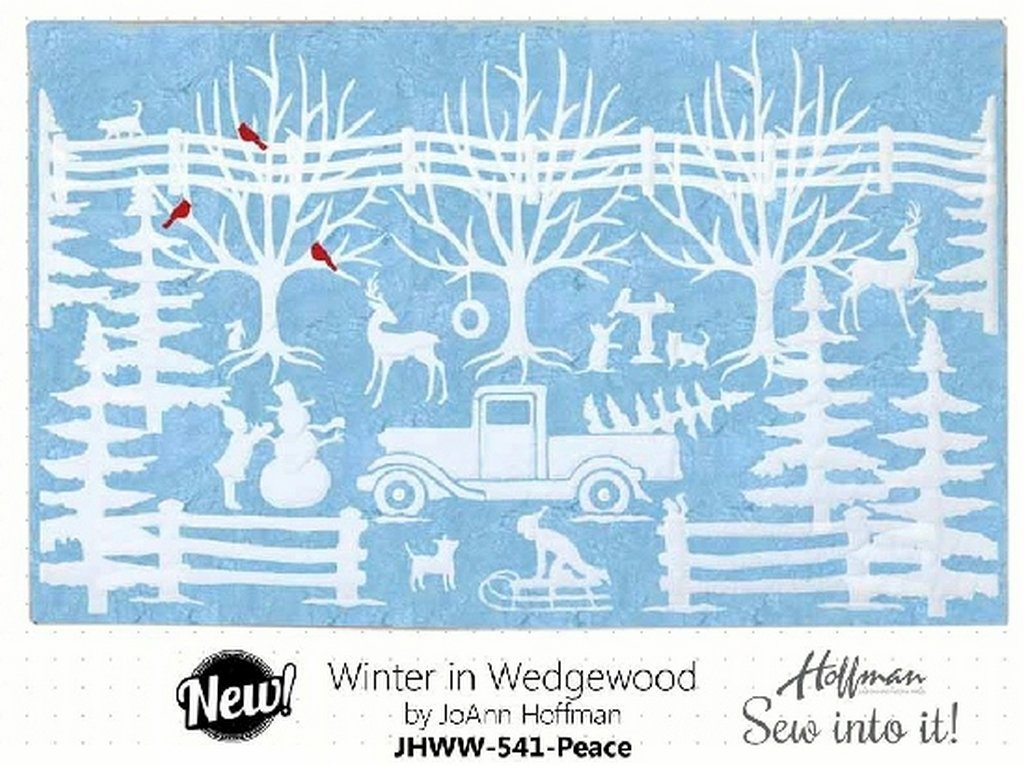 Winter in Wedgewood Precut Kit - Peace