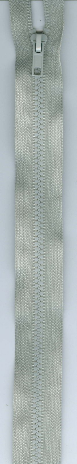 24 Separating Zipper #5 - Gray