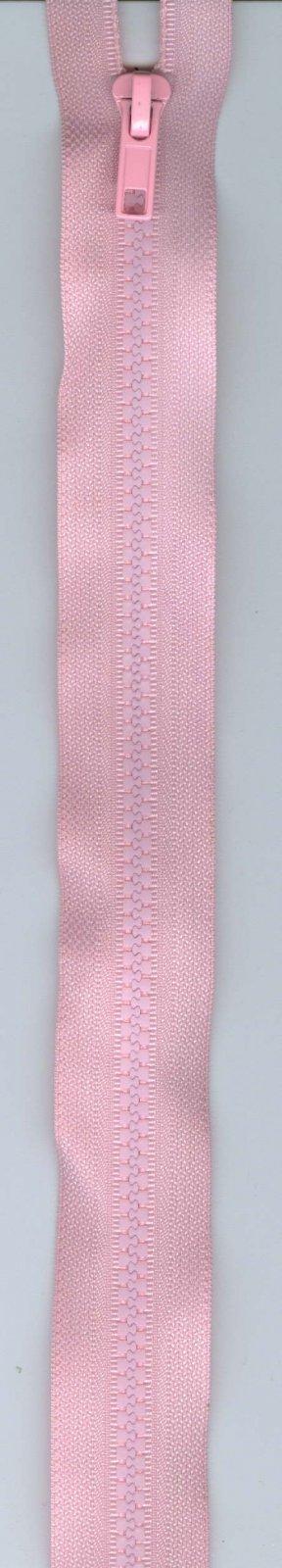 24 Separating Zipper #5 - Light Pink