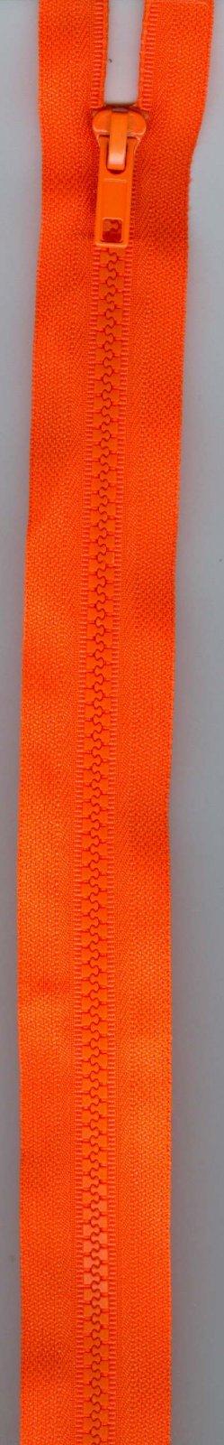 16 Separating Zipper #5 - Neon Orange