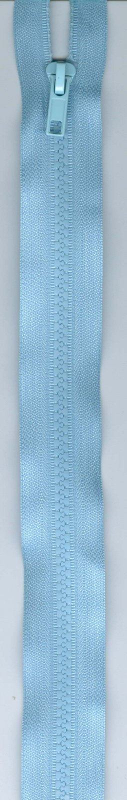 16 Separating Zipper #5 - Light Blue