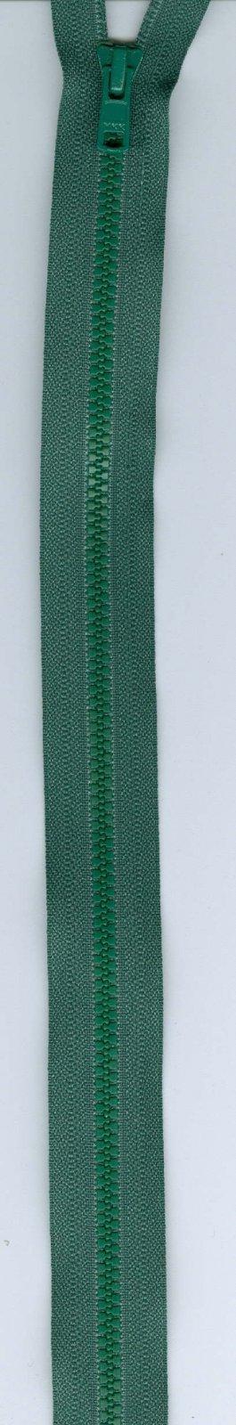 24 Separating Zipper #3 - Hunter Green