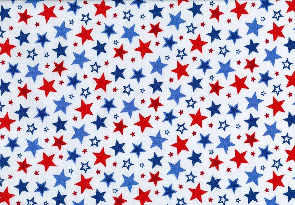 Sweet Land of Liberty - Stars - White