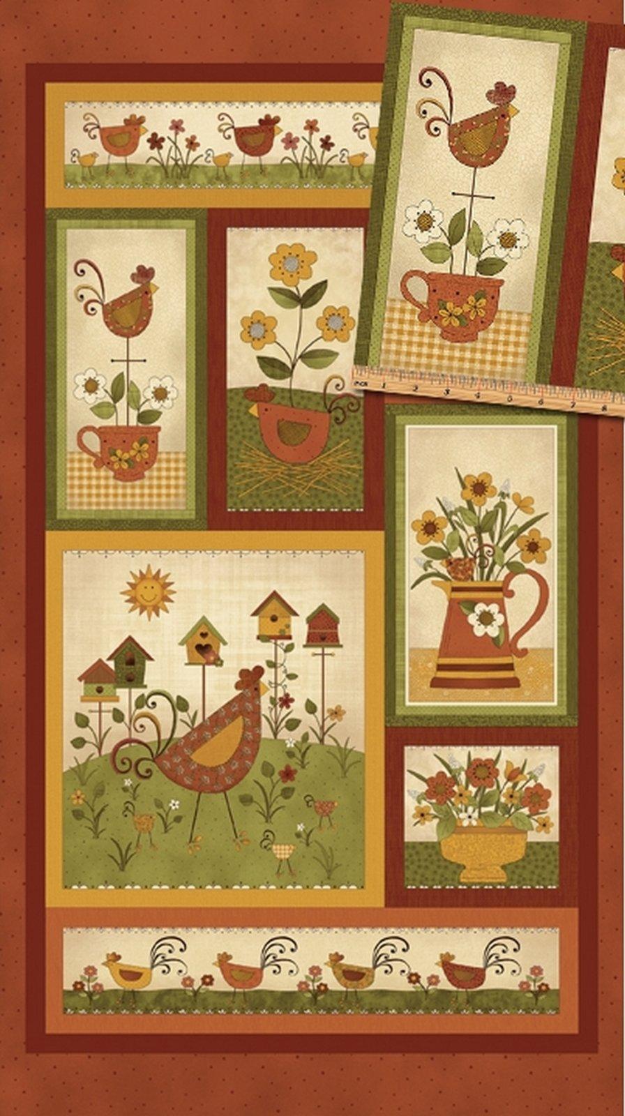 Chicks on the Run - Panel (24 x 44) - Spice