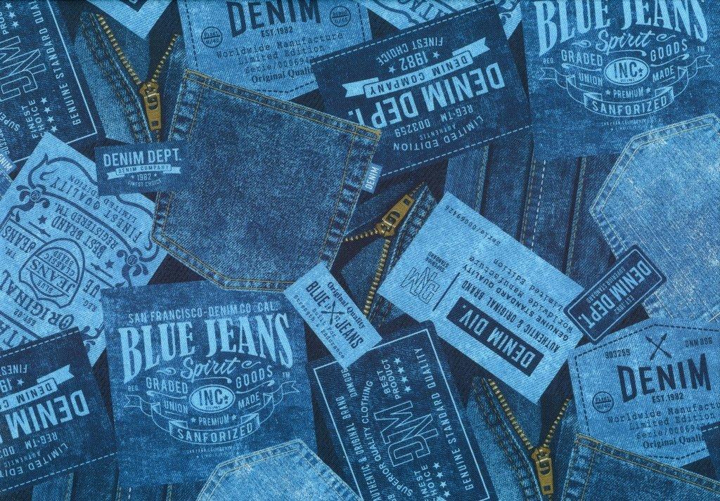 Got the Blues - Denim Pockets - Dark Blue