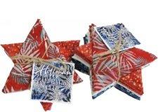 Bali Batik Club Fat Quarter Pack - July - Independence Day
