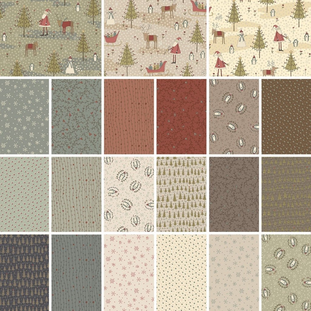 Winter Wonderland - Fat Quarter Bundle (21 pieces) - Multi