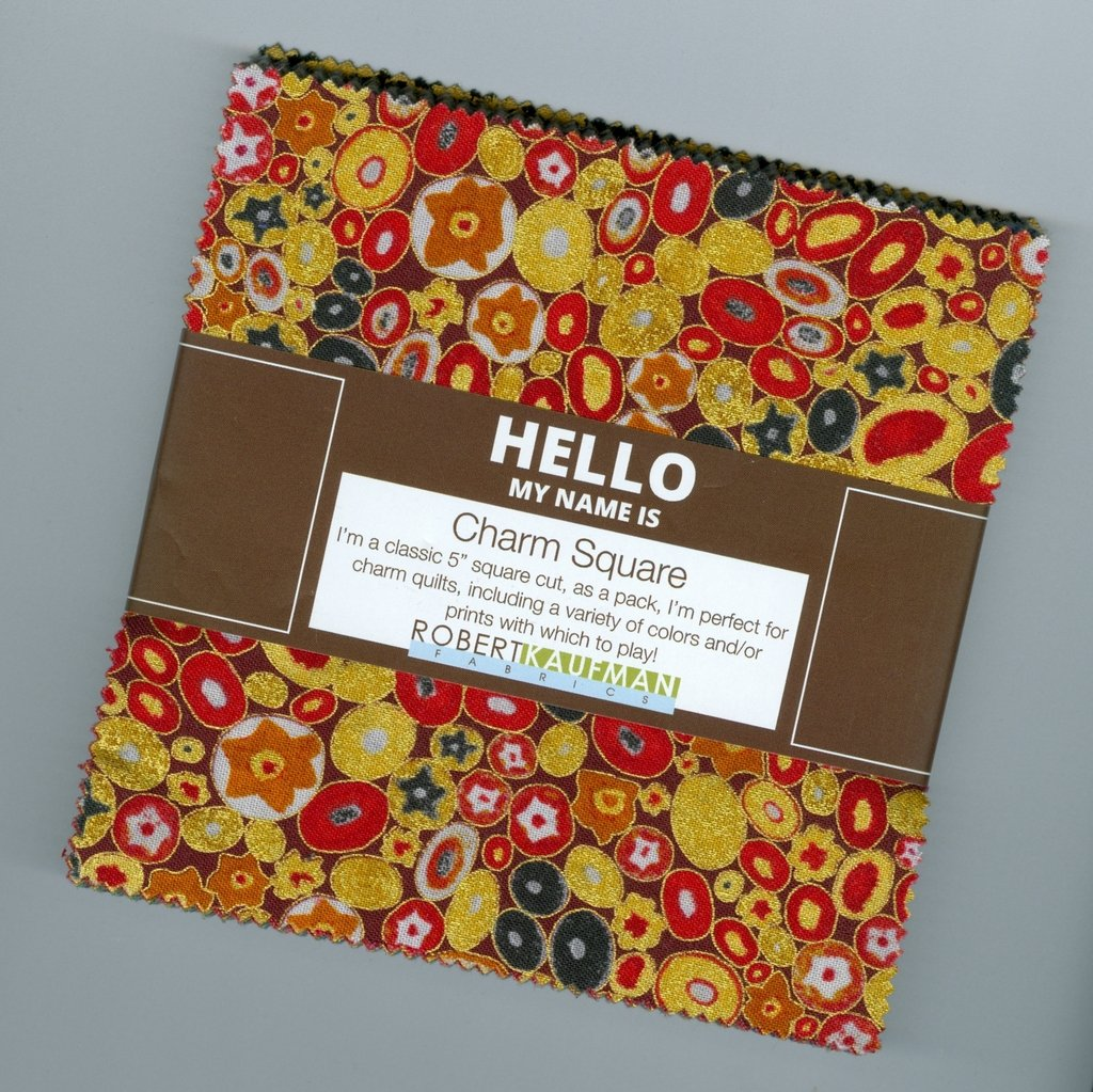 Gustav Klimt - Charm Squares Complete Blender Collection (42 pieces) - Multi