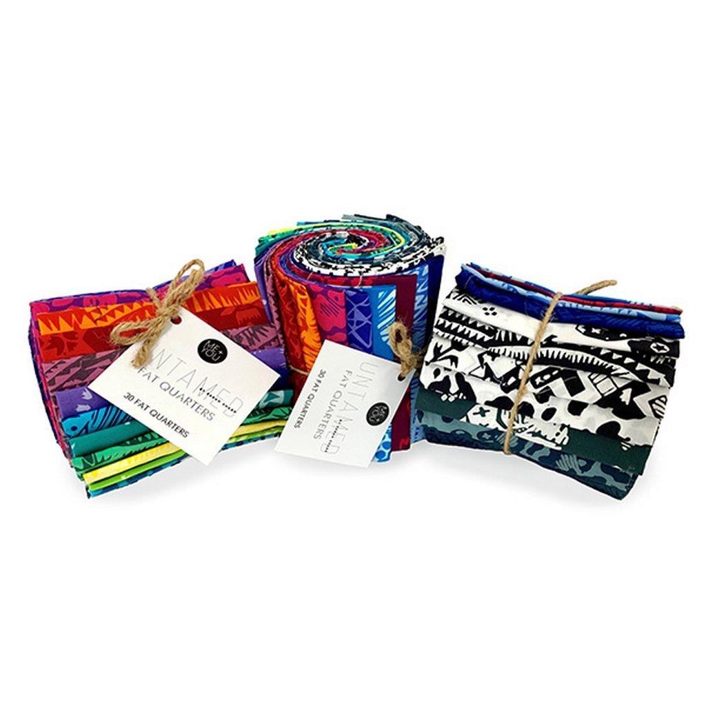 Untamed - Fat Quarter Bundle (30 pieces) - Multi