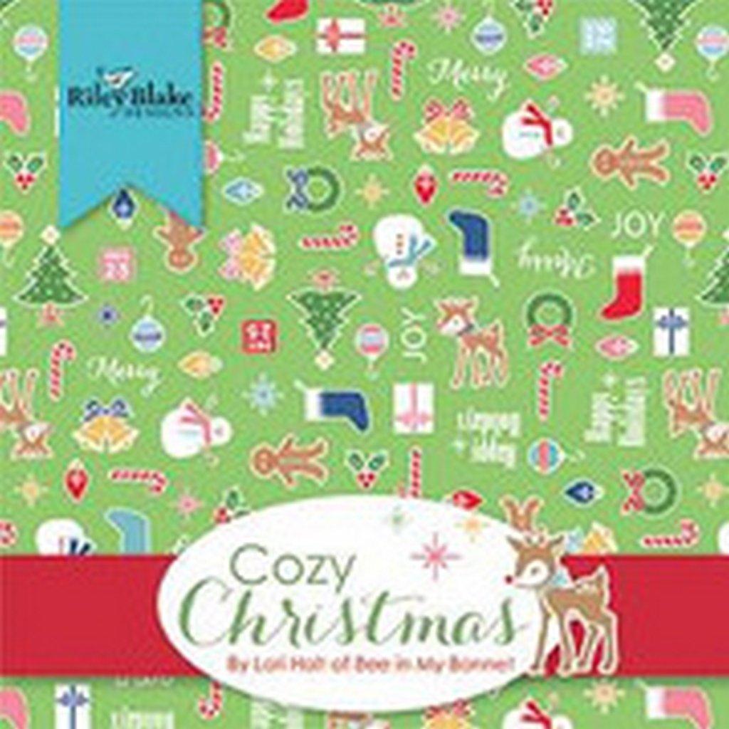 Cozy Christmas - 32 Fat Quarter Bundle