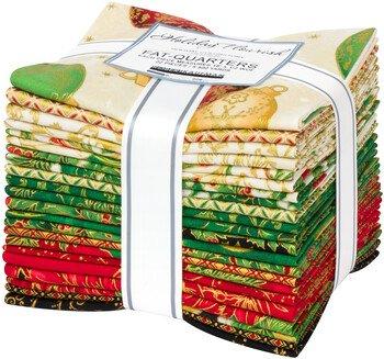 Holiday Flourish 14 - Fat Quarter Bundle - Holiday Colorstory