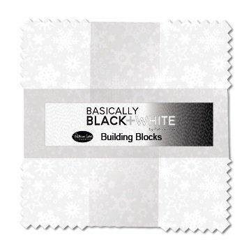 Basically Black & White - Building Blocks (10 Squares) - Multi