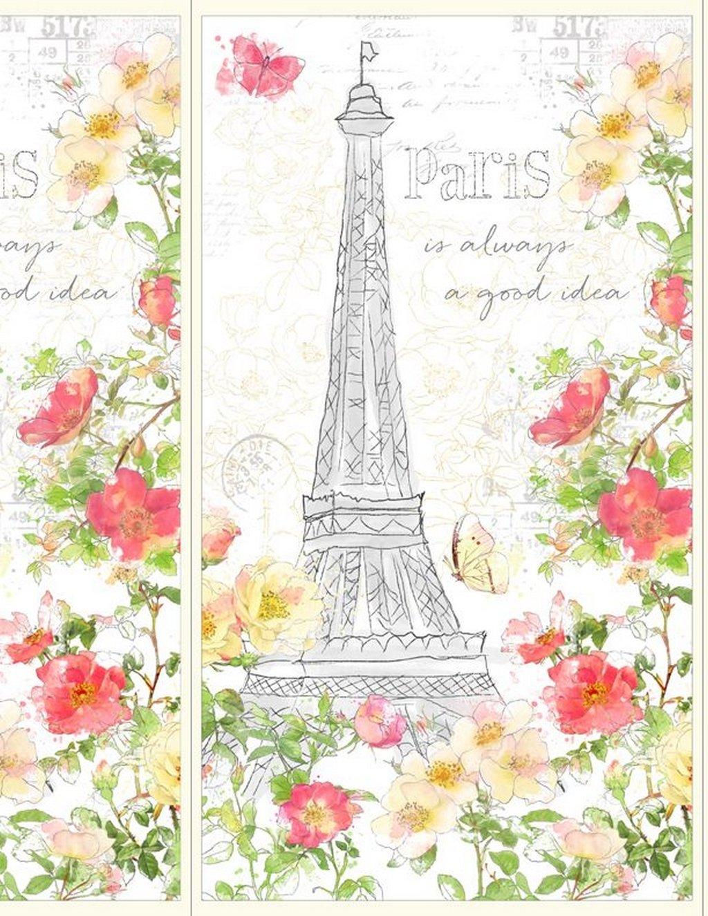 Painting Paris - Panel - Multi