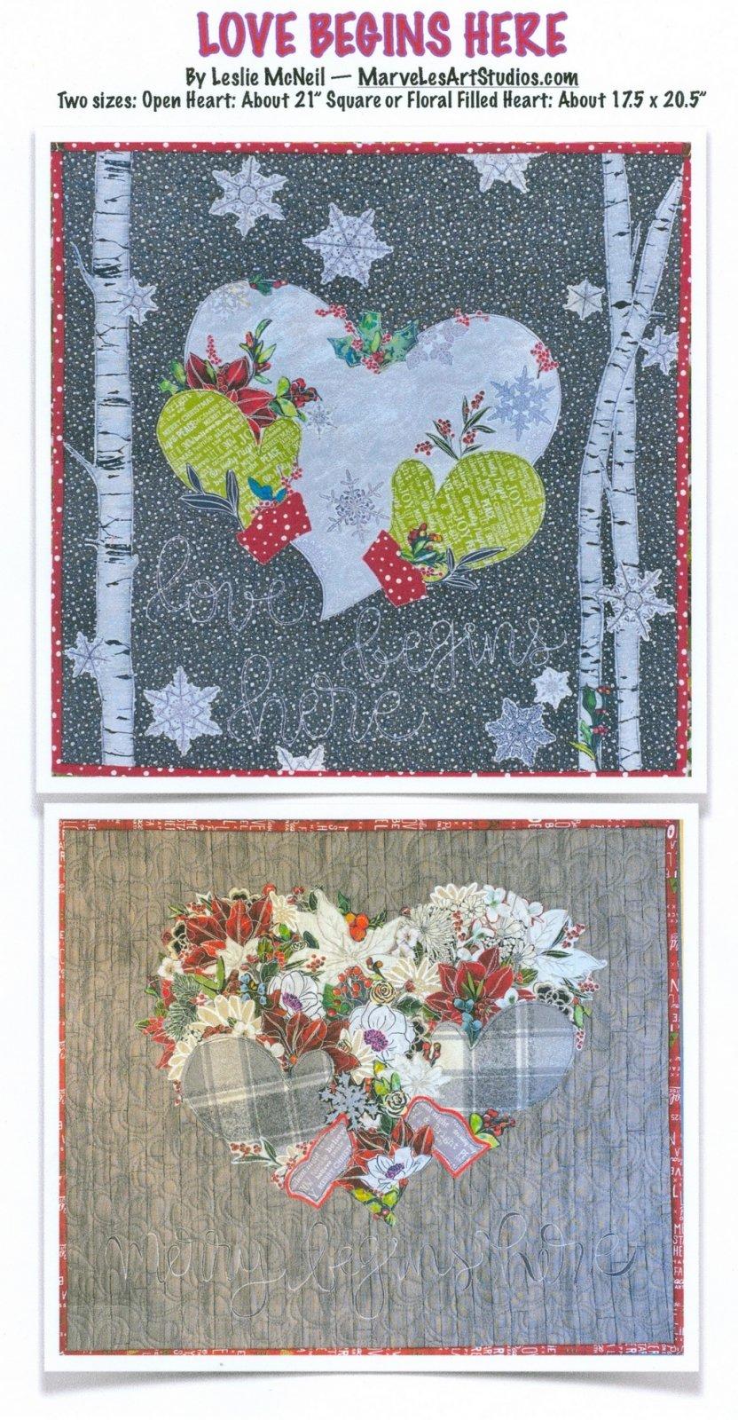 Love Begins Here Pattern by Leslie McNeil