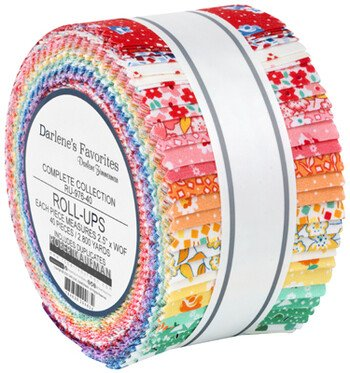 Darlene's Favorites - 2-1/2in Strips (40pcs/bundle) - Complete Collection