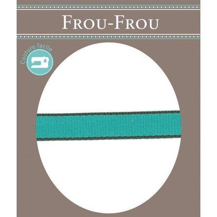Frou-Frou 1/2in gros grain Teal