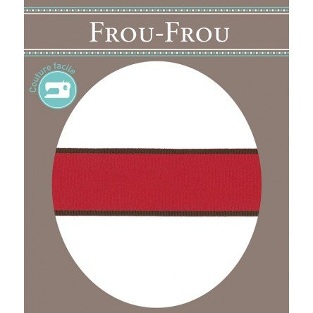 Frou-Frou 1in Satin Ribbon Red