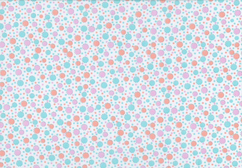 Everything But the Kitchen Sink XIII - Circus Dots - Orange Cream