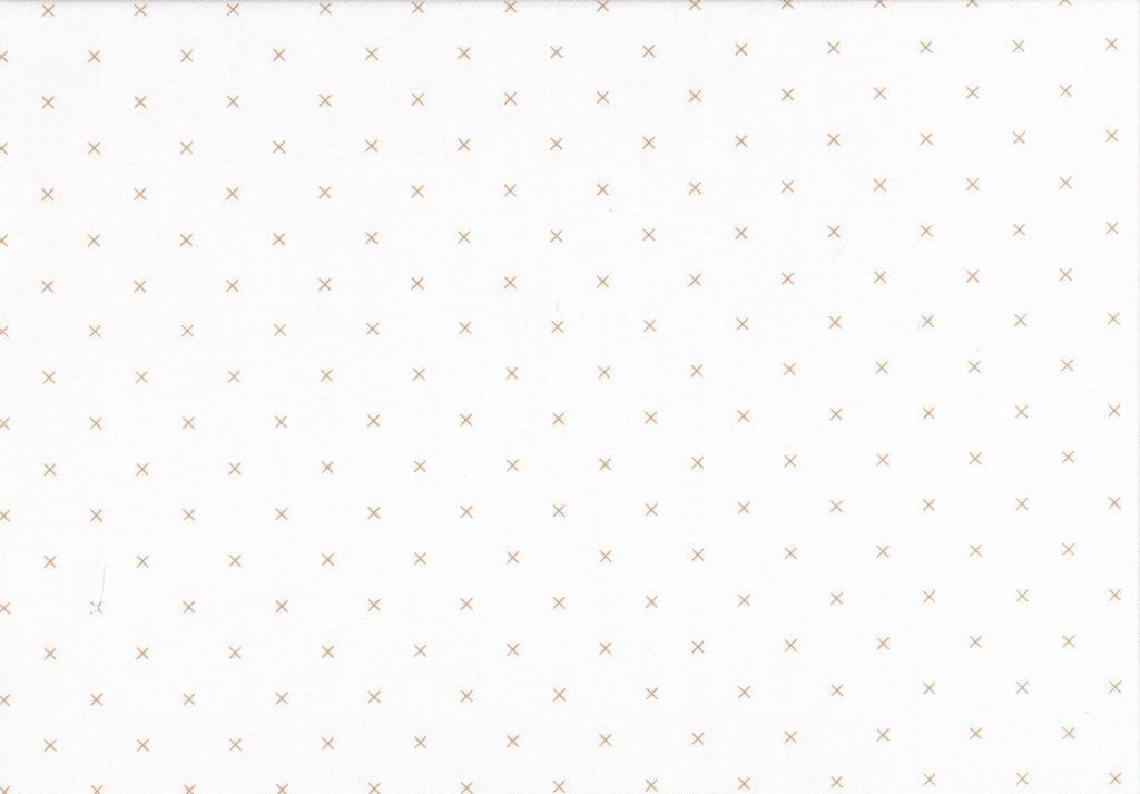 Bee Backgrounds - Cross Stitch - Brown