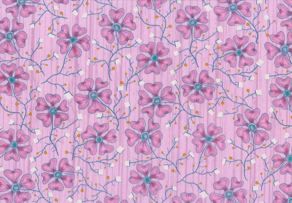 Cedar Chest - Fun Flowers - Pink