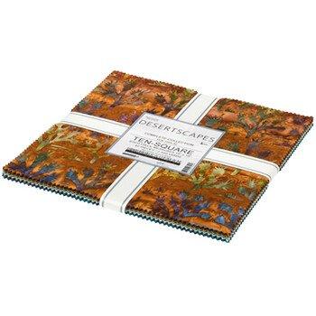 Artisan Batiks:  Desertscapes - 10 Squares (42pieces) - Complete Collection