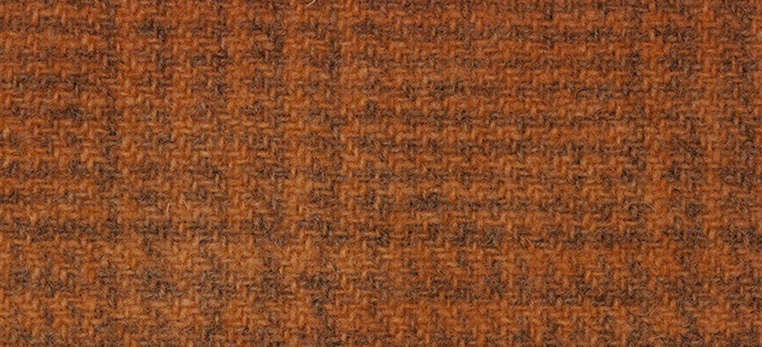 Wool Fat Quarter 2238 GP Sweet Potato Glen Plaid 16in x 26in