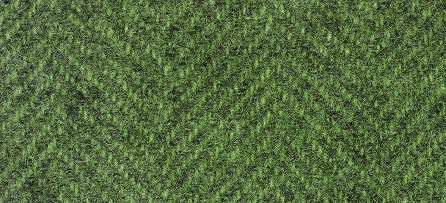 Wool Fat Quarter 1277 HB Collards Herringbone 16in x 26in
