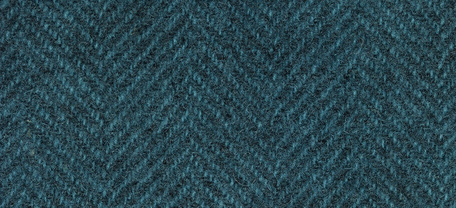 Wool Fat Quarter 1282 HB Ocean Herringbone 16in x 26in