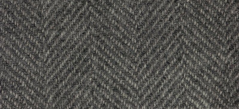 Wool Fat Quarter 1297 HB Hippo Herringbone 16in x 26in