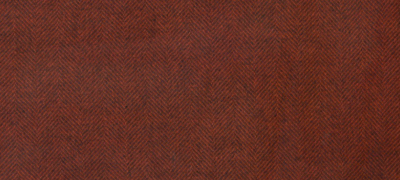 Wool Fat Quarter 2244a HB Tomato Herringbone 16in x 26in