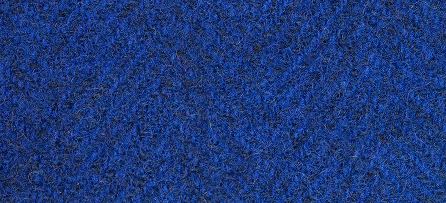 Wool Fat Quarter 2340 HB Lapis Herringbone 16in x 26in
