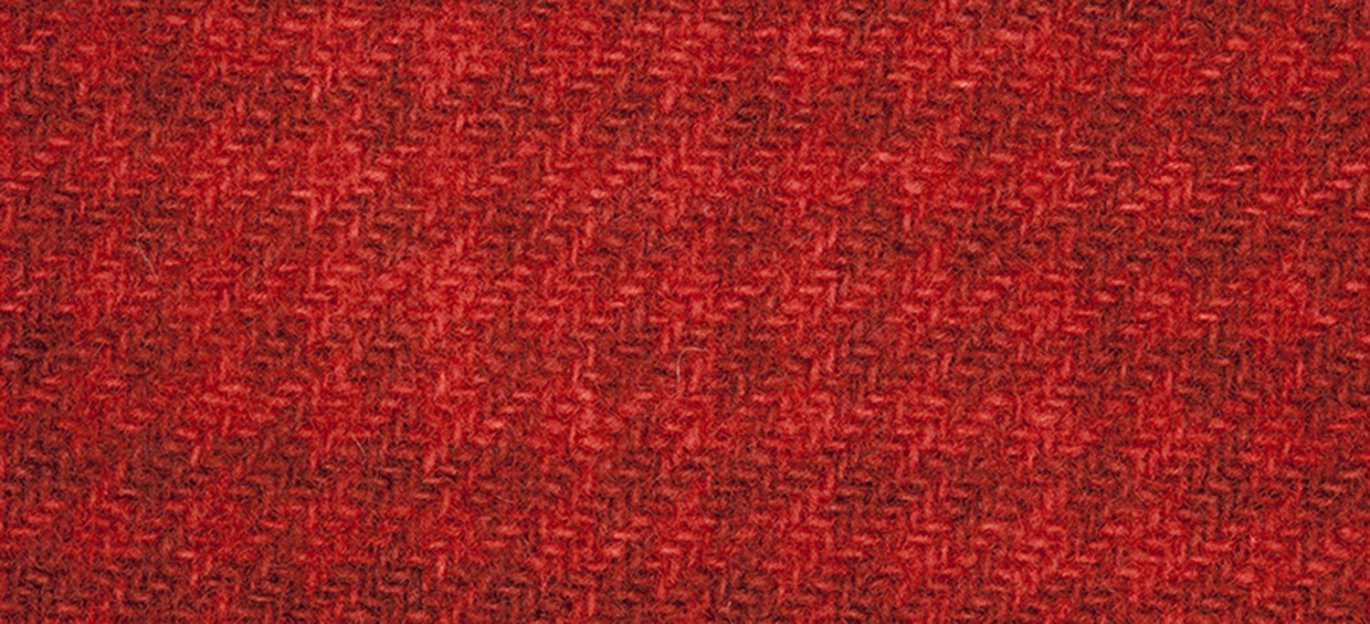 Wool Fat Quarter 2266a HT Louisiana Hot Sauce Houndstooth 16in x 26in